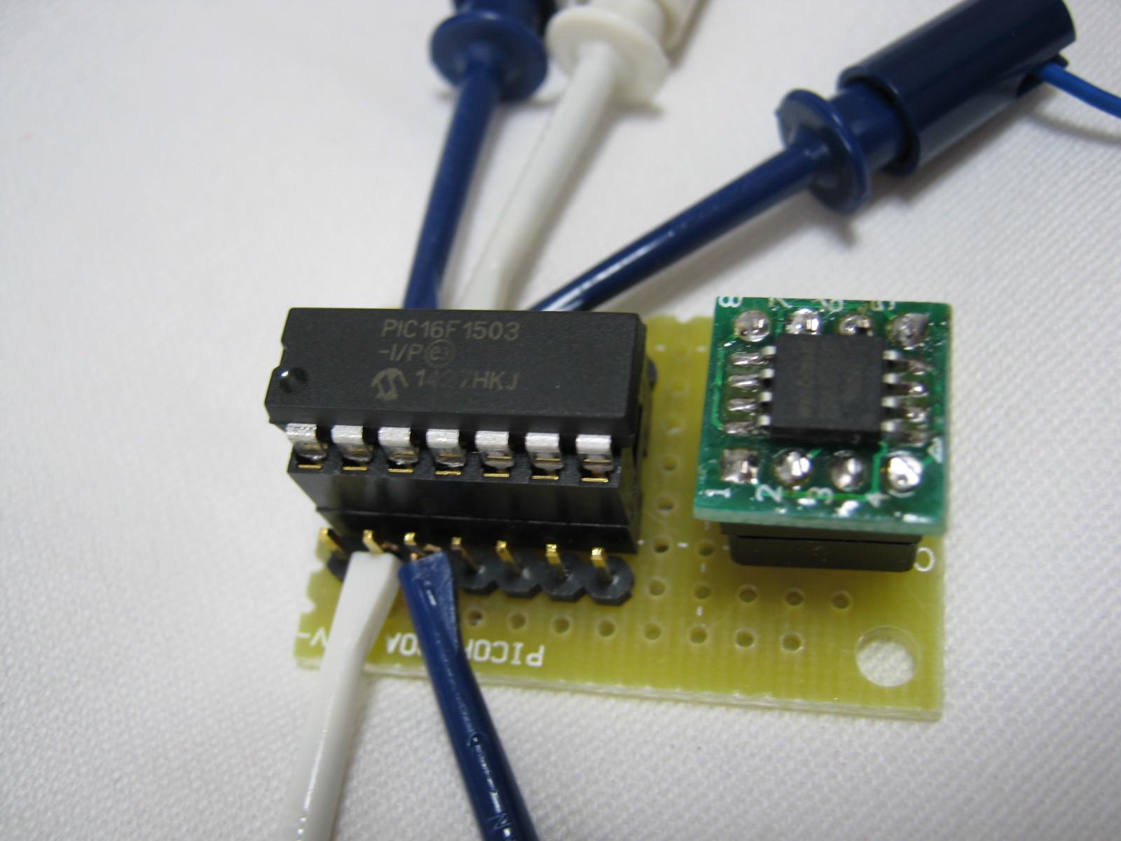 PIC電子オルゴールテストベンチ(タッチセンス2)