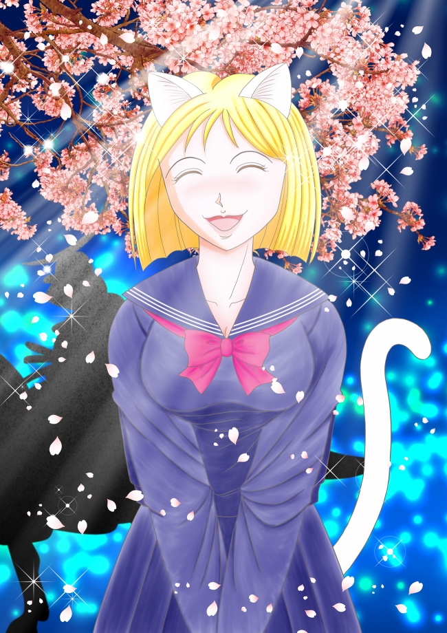 春のシュレ猫たん2(文字なし)