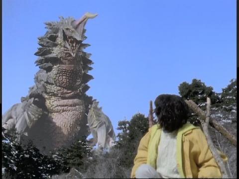 バリヤー怪獣 ガギII