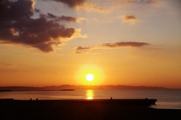 2019/02/18 今日の湘南 茅ヶ崎の海
