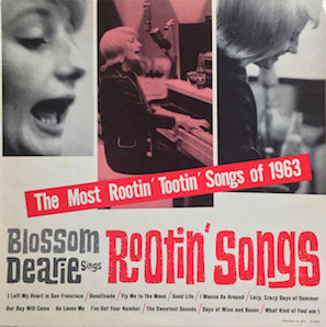 BLOSSOM DEARIE SINGS ROOTIN SONGS 1963