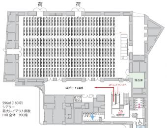 新田真剣佑ファンミーティング_ベルサール新宿座席表