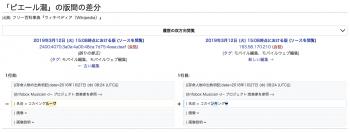 ピエール瀧のWikipedia荒らし5