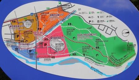 真駒内公園マップ