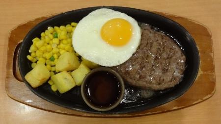 ハンバーグステーキ 399円