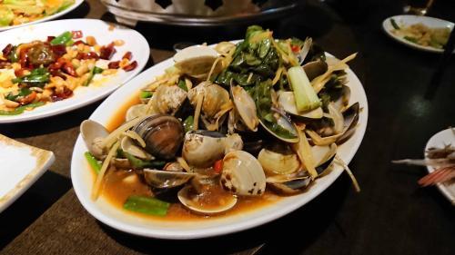 蛤の炒め物