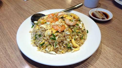 玄米の海老炒飯