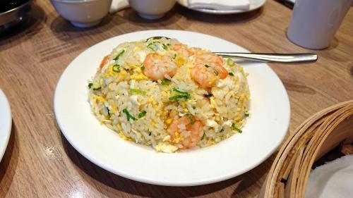 白米の海老炒飯