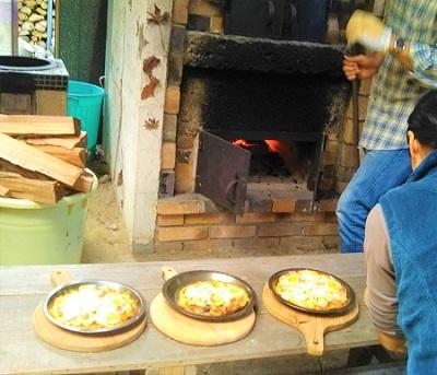 森の和み(秋)ピザ窯