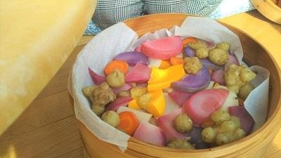 11月 ココロ和み 蒸し野菜