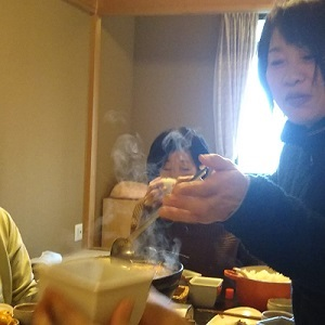 1月 お鍋 たえちゃん