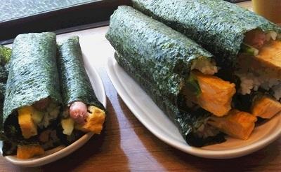 手巻き寿司 大量