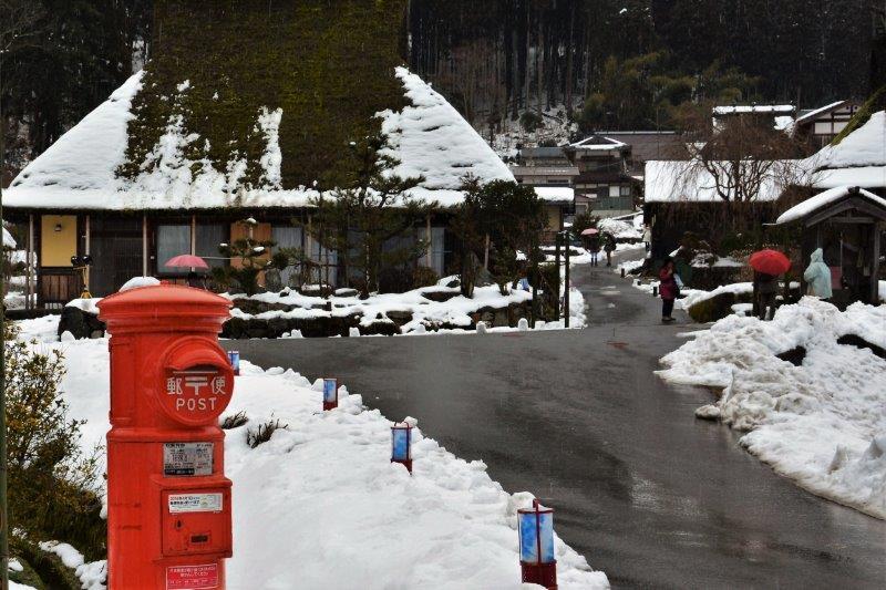 ②冬の美山