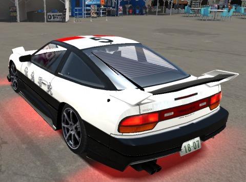 ドリスピ XD 180 パトカー (3)
