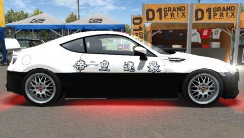 ドリスピXD BRZ パトカー (2)