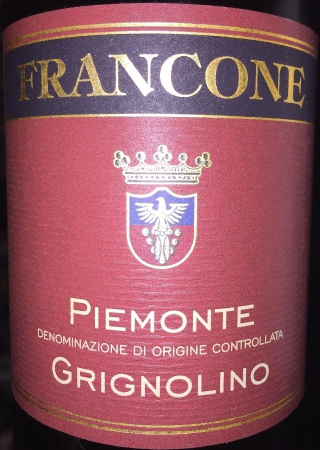Piemonte Grignolino Francone 2016  part1