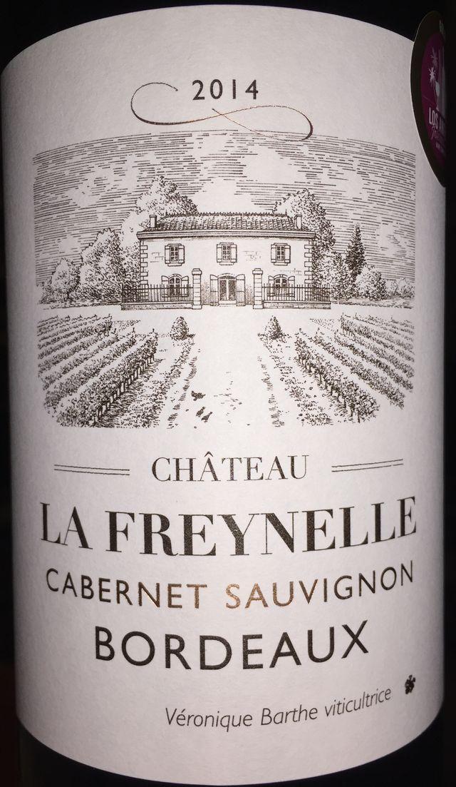 Chateau La Freynelle Cabernet Sauvignon 2014