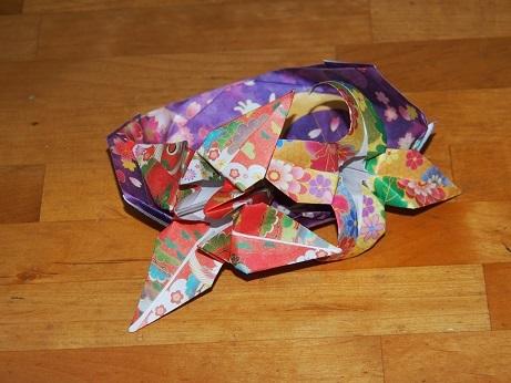 P2260056 折り紙のプレゼント