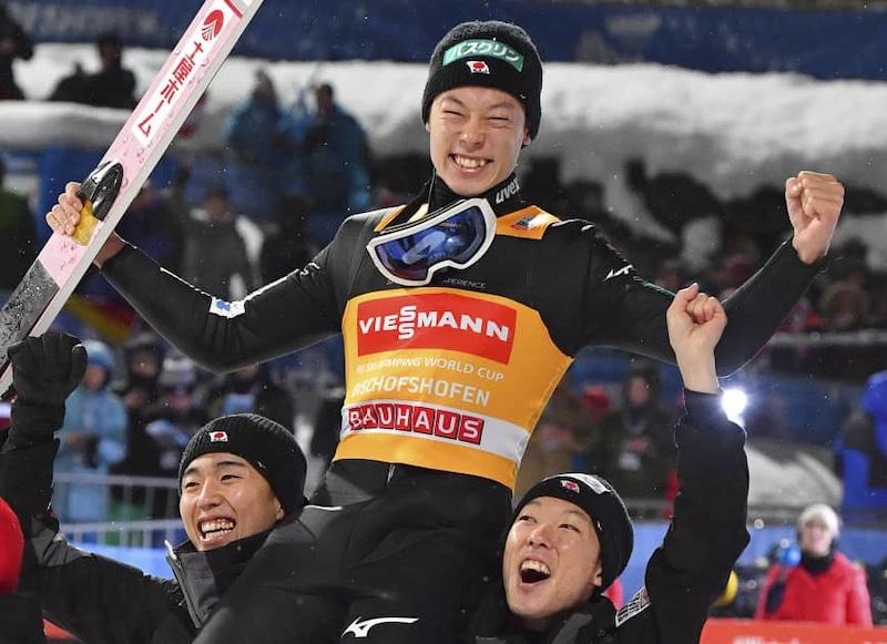 小林陵侑君スキージャンプWCTWIN