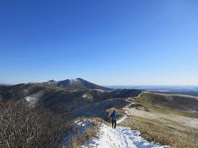 摩周岳登山道第一展望台ルート中摩周岳1