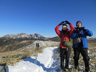摩周岳登山道第一展望台ルート中摩周岳2