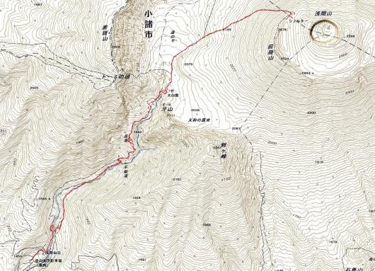 190215 前掛山軌跡