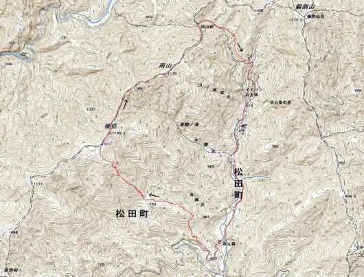 190218 檜岳軌跡