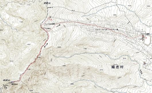 190301 四阿山軌跡