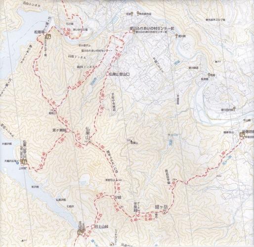 仏果山地図1