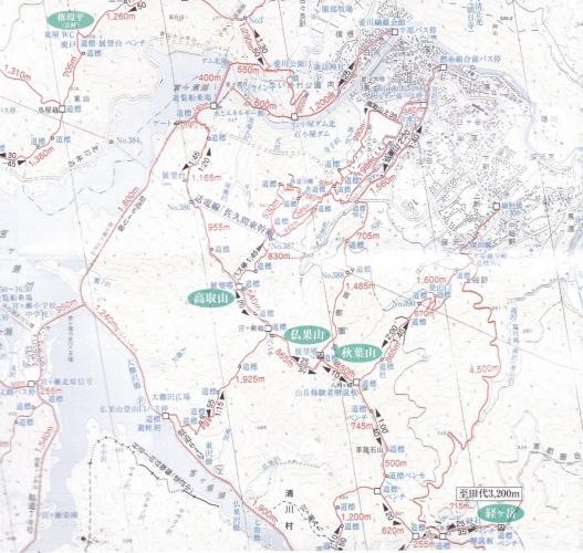 仏果山地図2