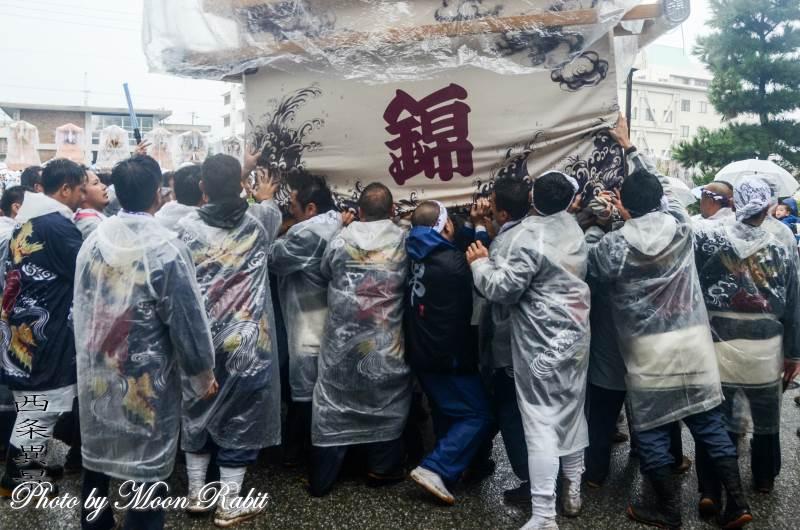 錦町だんじり(屋台) 祭り装束