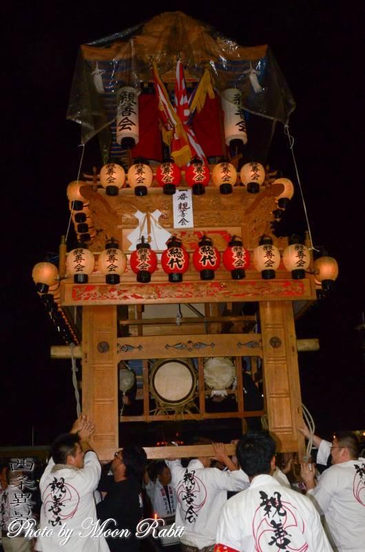 東予宵祭り 親善会屋台(だんじり)