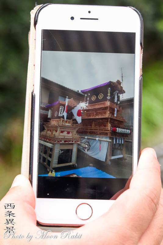 つばき子供だんじり(屋台) 小松祭り 愛媛県西条市小松町