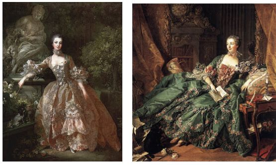 ルイ15世の寵姫ポンパドール婦人