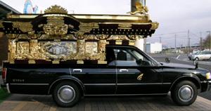 日本の霊きゅう車