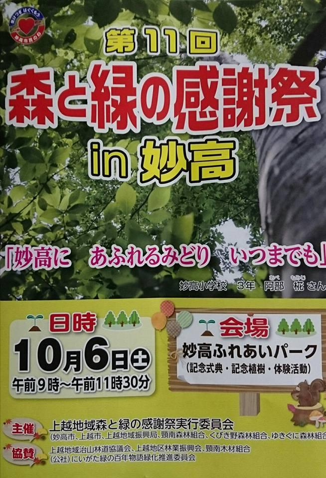 【森と緑の感謝祭IN妙高】-1