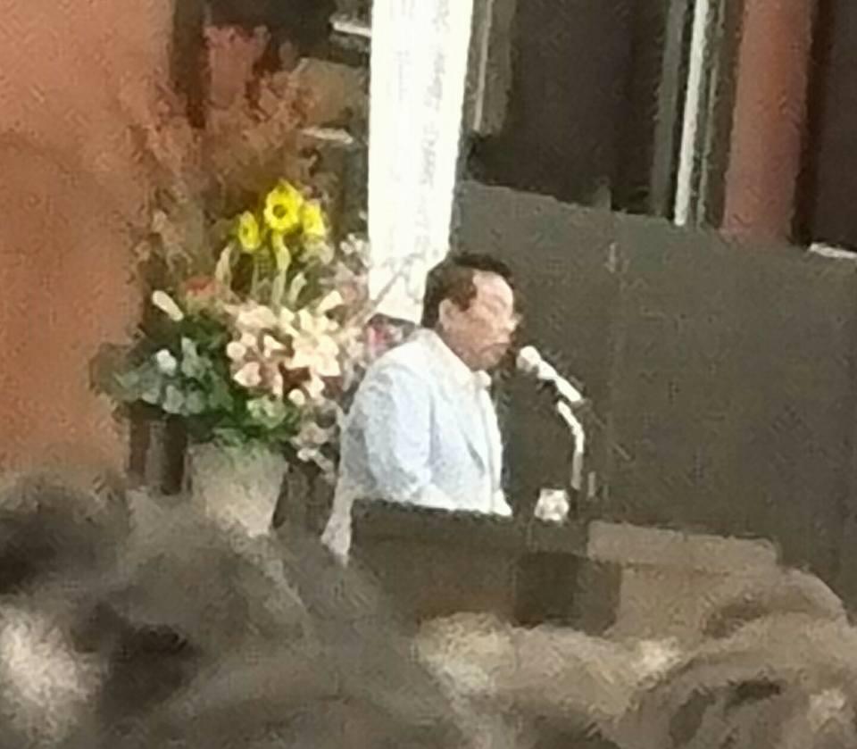 【地元の式典や後援会・祝賀会へ】-2