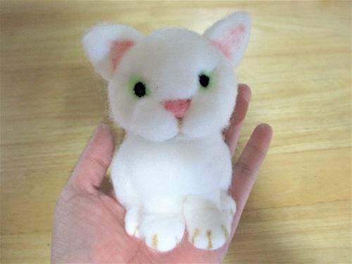 白猫ちゃん立体3