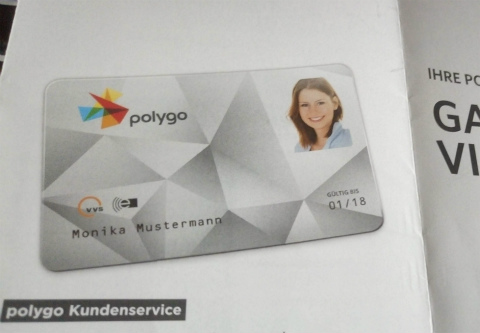 ポリゴカードの見本
