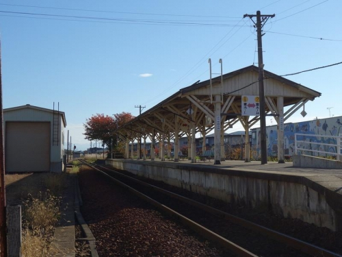 長井駅ホーム