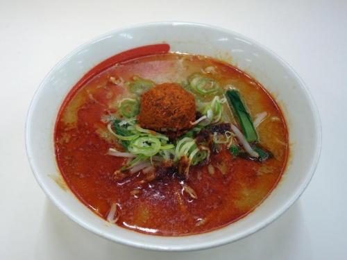 野菜担担麺(スパイシー)