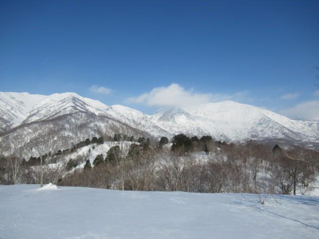 3月4日 小白山と野伏ヶ岳