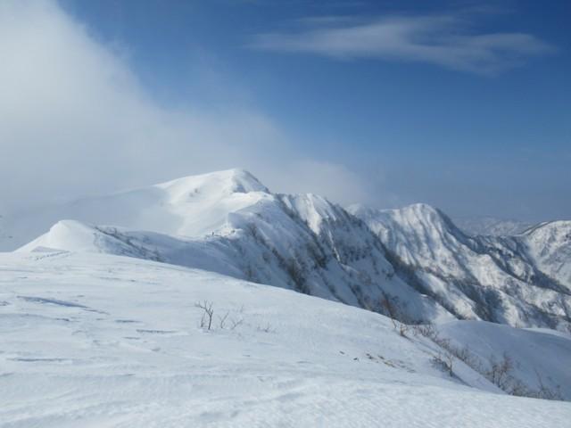 3月4日 小白山ピーク1609m