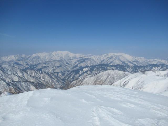 3月4日 白山と別山