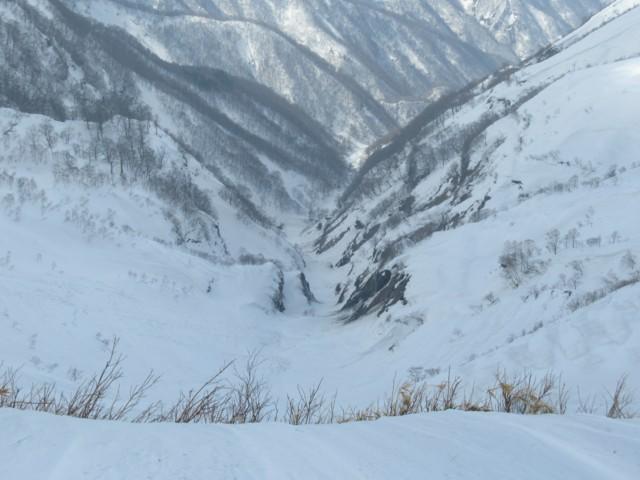 3月4日 橋立峠から三ノ又谷