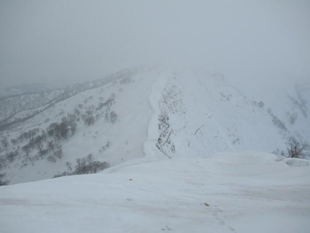 3月4日 コルが橋立峠