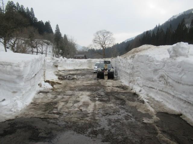 3月4日 除雪してくれてる