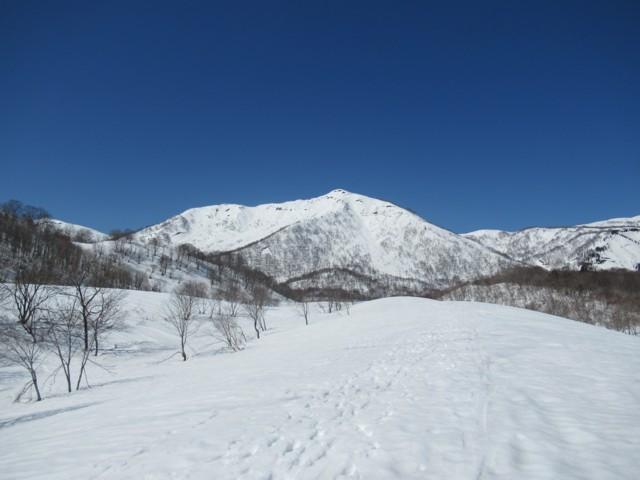 3月17日 和田牧場跡から野伏ヶ岳