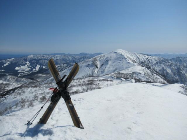 3月17日 薙刀山ピークから