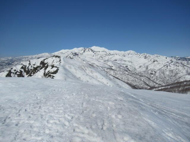 3月17日 白山別山